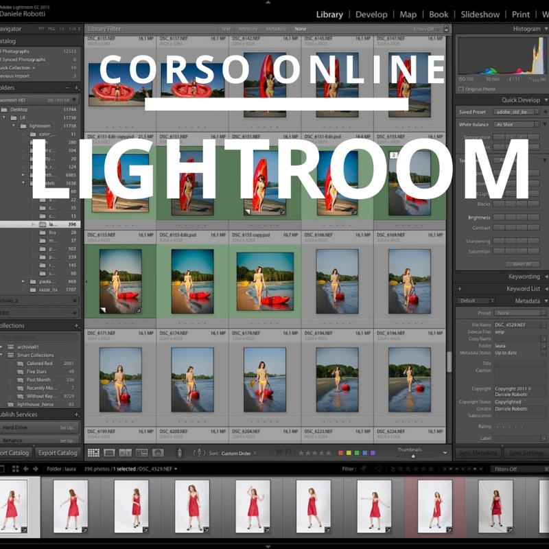 corso lightroom online in internet